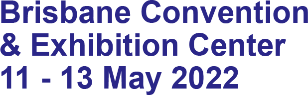 Brisbane Convention & Exhibition Centre. 23 – 25 May 2018